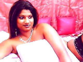 Busty Indian girl with big dark areolas